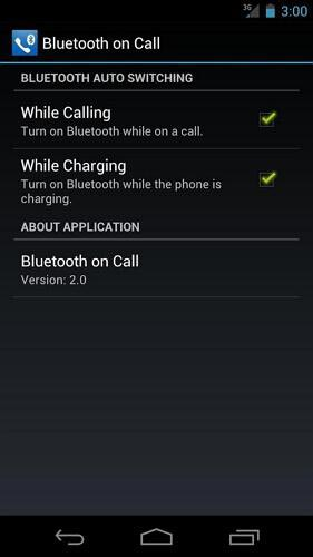 Bluetooth on Call para android