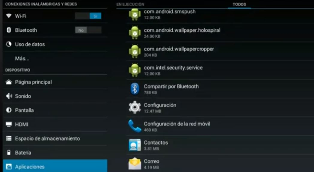 bluetooth en tablets