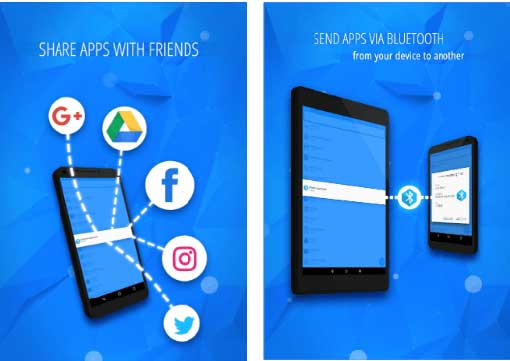 bluetooth app sender android app