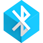 bluetooth app sender logo android