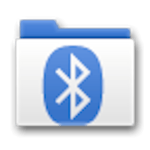bluetooth transfer android logo