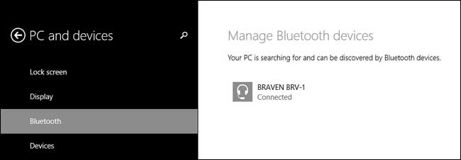dispositivo bluetooth disponible en pc